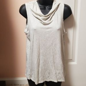 Kaileigh Sleeveless Hooded Top NWT